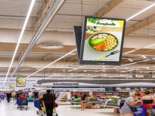 in-Store Media lance un nouveau media d'affichage digital dans les hypermarchés E.Leclerc