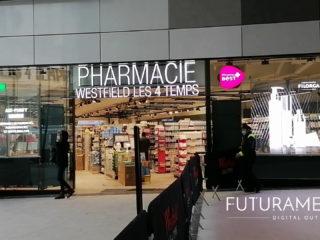 FUTURAMEDIA intègre à son offre de nouvelles solutions innovantes d'affichage dynamique : les murs d'écrans LED Transparents